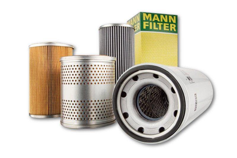filtry do filtracji sprężonego powietrza MANN-FILTER