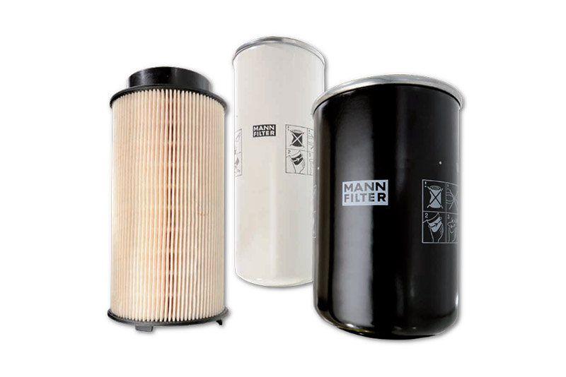 Filtry przemysłowe MANN-FILTER