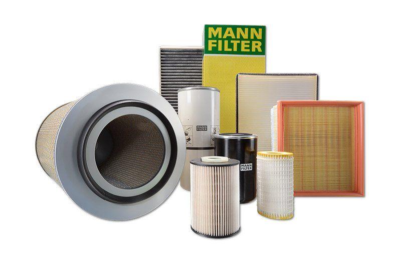 Filtry powietrza, paliwa oleju, separatory MANN-FILTER