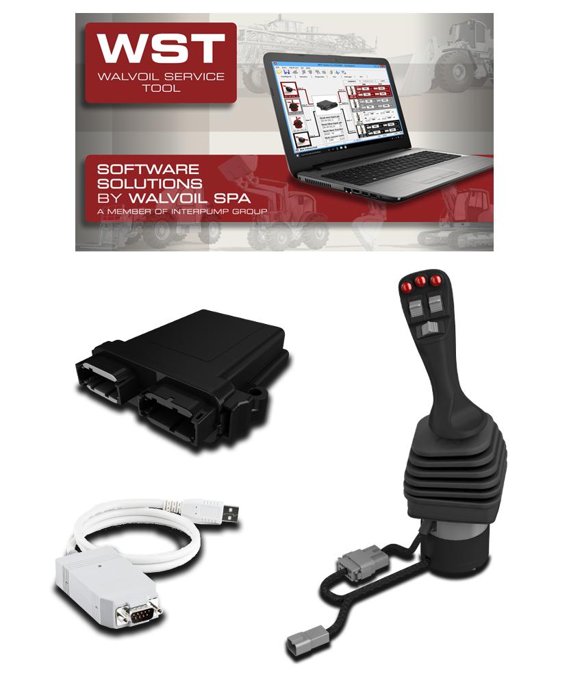 proporcjonalne sterowanie elektroniczne - Walvoil