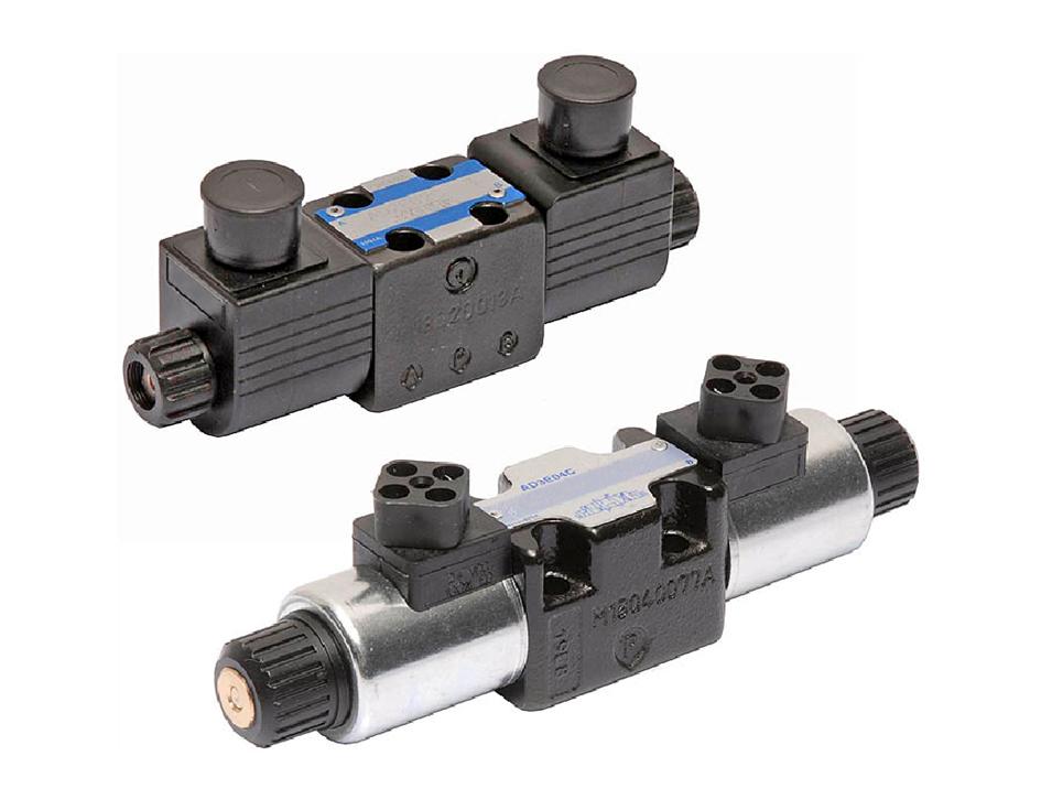 Zawory hydrauliczne CETOP