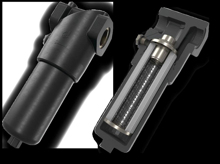 Filtry hydrauliczne Donaldson wysokociśnieniowe