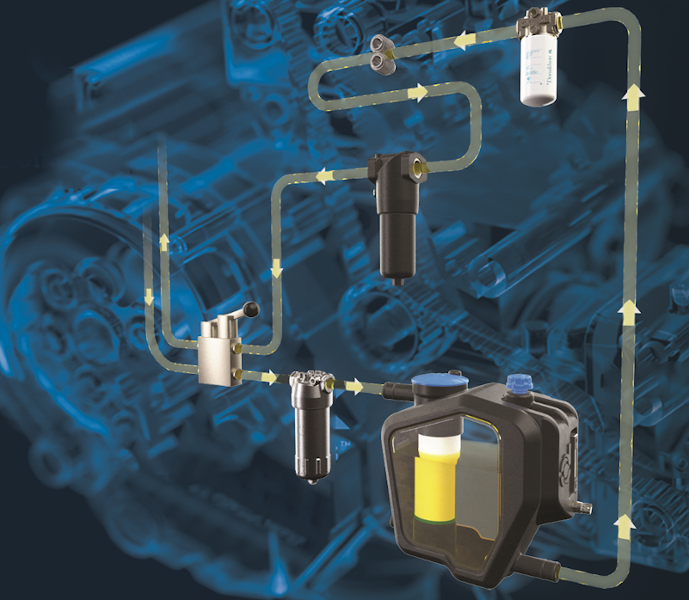 Filtry hydrauliczne Donaldson
